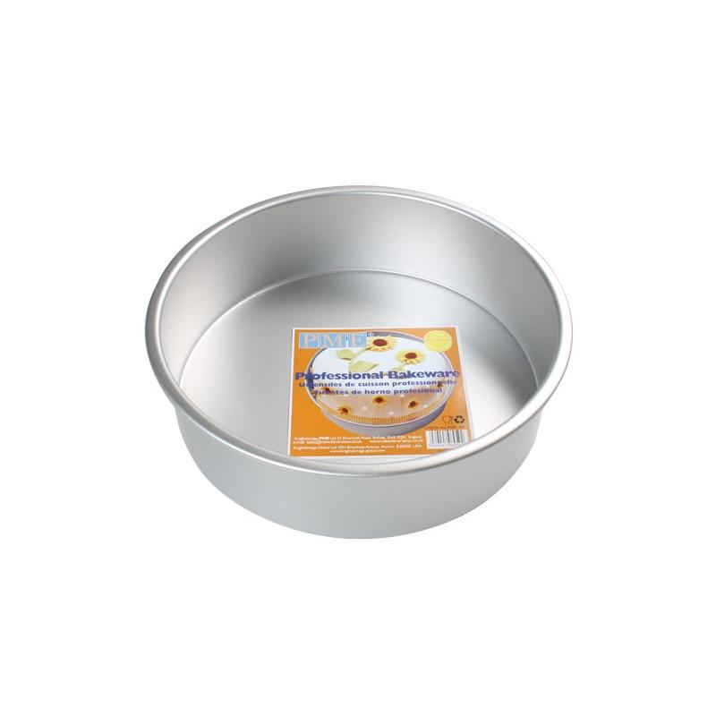 Molde bizcocho redondo 10cm x 7.5cm PME