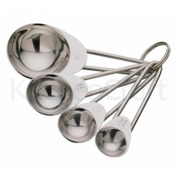 Cucharas medidoras de acero inoxidable Kitchen Craft