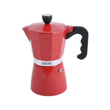 Cafetera Italiana 6 tazas Rojo La Cafetiere