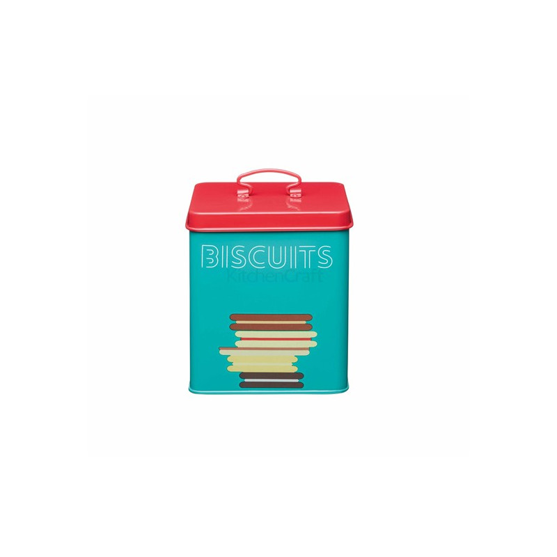 Caja de lata para Galletas Retro Kitchen Craft