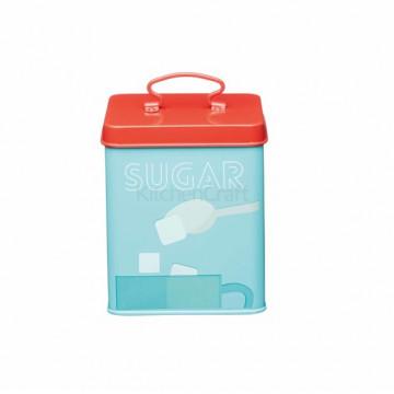 Caja de lata para el azúcar Retro Kitchen Craft