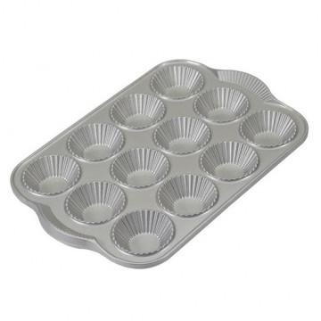 Molde de 12 cavidades Tartaletas Nordic Ware