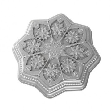 Molde Copo de Nieve Sweet Snowflake Nordic Ware