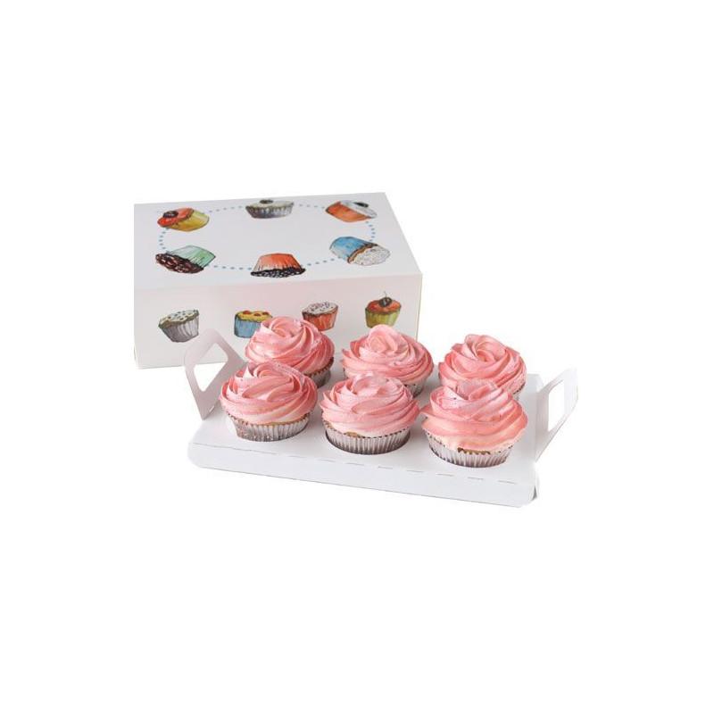 Interior para cupcakes 24 x 16 x 8 cm
