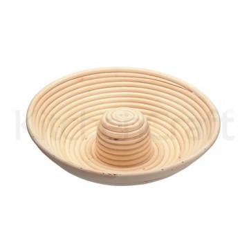 Banetón de mimbre redondo con hueco Kitchen Craft