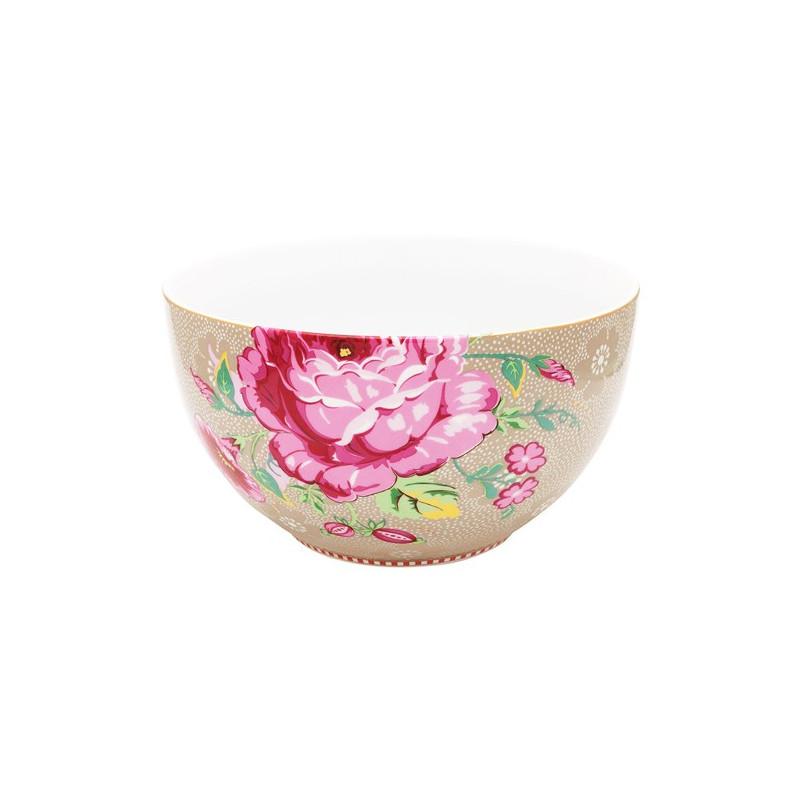 Bol de cerámica de 18 cm Rose Kakhi Pip Studio