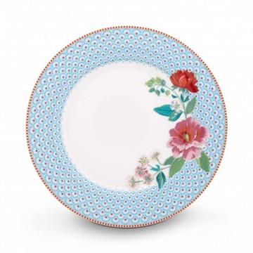 Plato de cerámica de 26 cm Rose Blue Pip Stdio