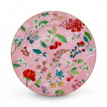 Plato de cerámica de 32 cm Hummingbirds Pink Pip Stdio