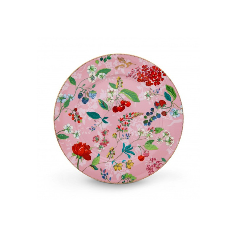 Plato de cerámica de 32 cm Hummingbirds Khaki Pip Stdio