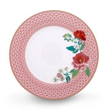 Plato de cerámica de 26 cm Rose Pink Pip Stdio