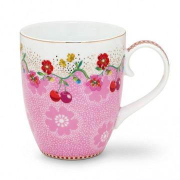 Taza con asa Cherry Pink Pip Studio
