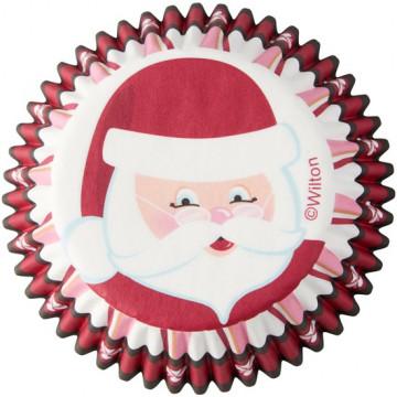 Cápsulas de cupcakes Santa Claus Wilton