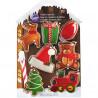 Pack de 7 cortantes Taller de Santa Claus Navidad Wilton