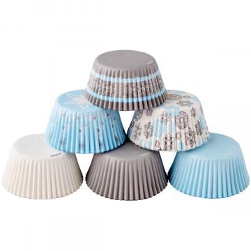 Pack de 150 cápsulas de cupcakes Invierno Wilton