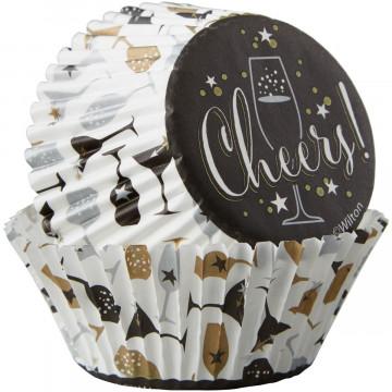 Cápsulas cupcakes Cheers Wilton