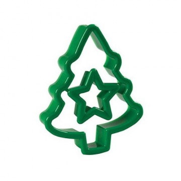 Cortante Árbol de Navidad Estrella  Wilton