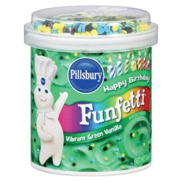 Frosting Crema de relleno con Confeti Azul Funfetti Pillsbury [CLONE] [CLONE] [CLONE]