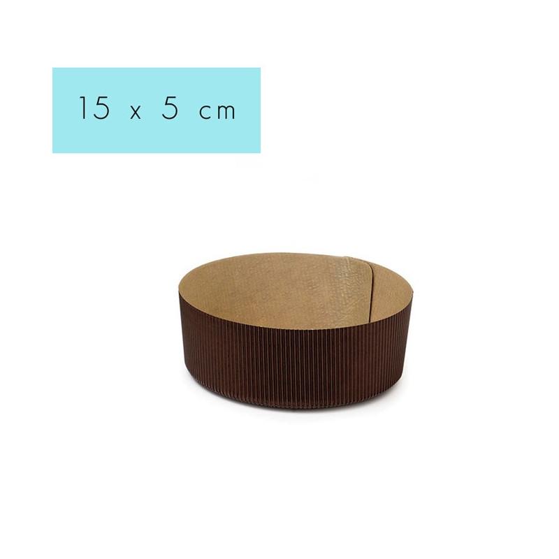 Molde de papel redondo 15 cm Decora Italia