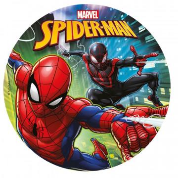 Papel de azúcar 20 cm Spider man Dekora