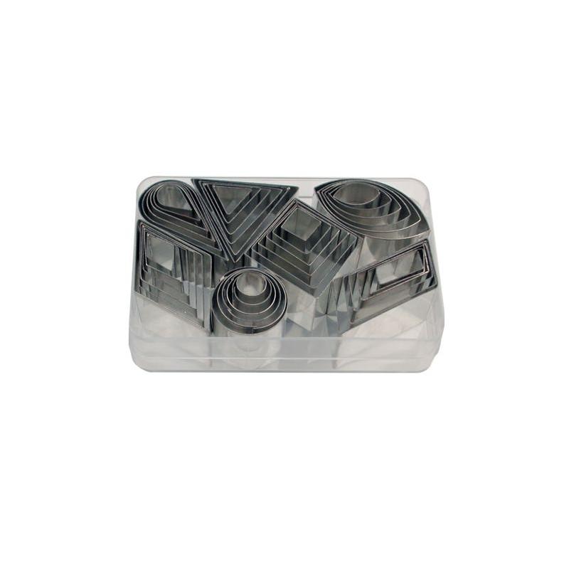 Cortante pack 42 formas mini geométricas