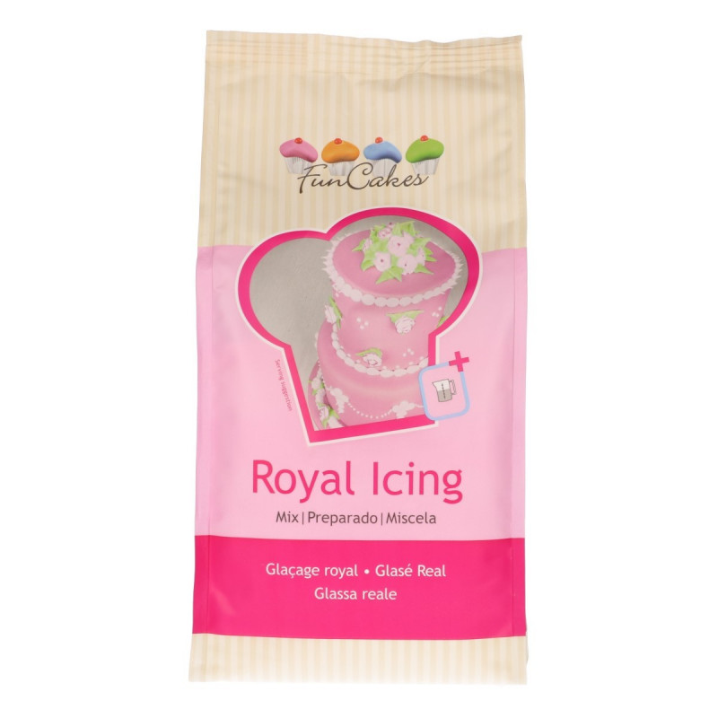 Royal Icing mix 900 gr Funcakes