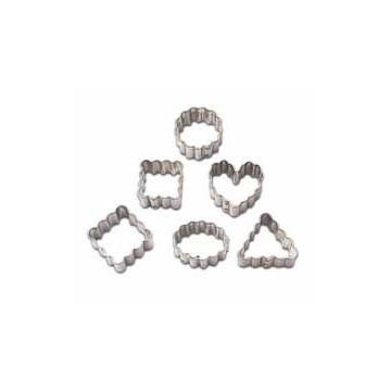Cortante pack 6 formas geométricas minis con blondas