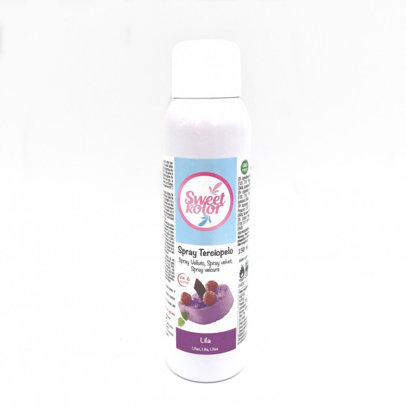 Spray efecto terciopelo Lila 150 ml Sweet Kolor