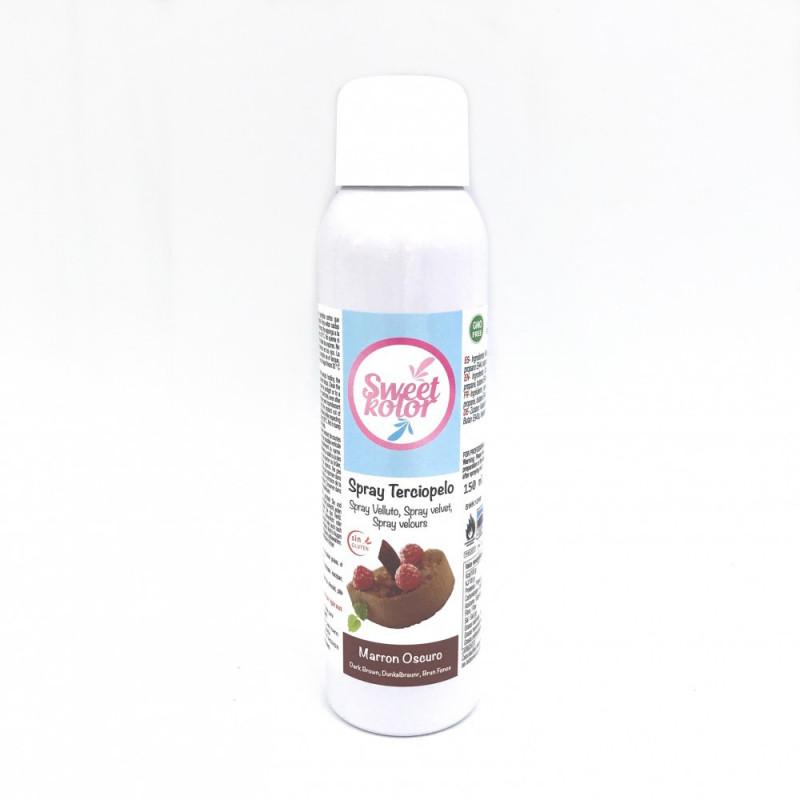 Spray efecto terciopelo Marrón 150 ml Sweet Kolor