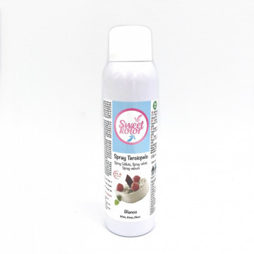 Spray efecto terciopelo Blanco 150 ml Sweet Kolor