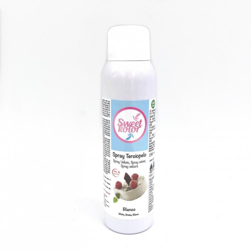 Spray efecto terciopelo Blanco 150 ml Sweet Kolor