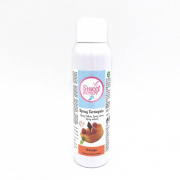 Spray efecto terciopelo Naranja 150 ml Sweet Kolor