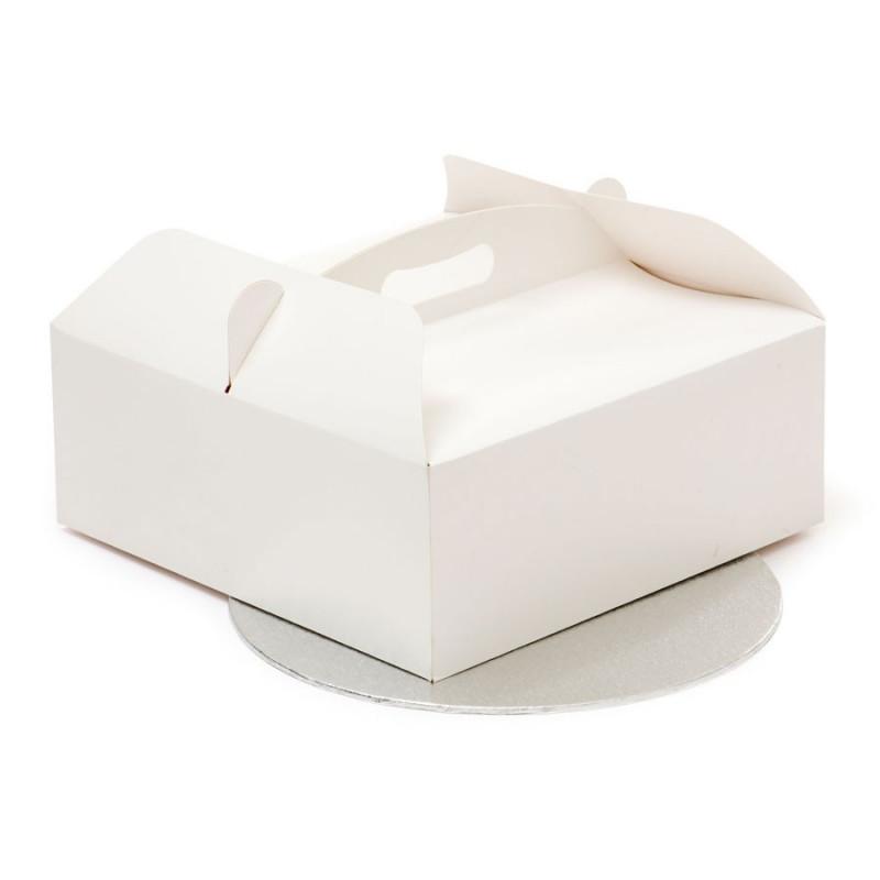 Caja de tarta + bandeja 28 cm Decora Italia