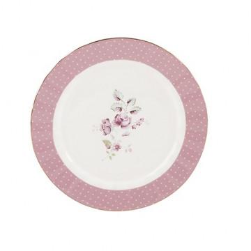 Plato de cerámica 19 cm Ditsy Floral Katie Alice Rosa Creative Tops
