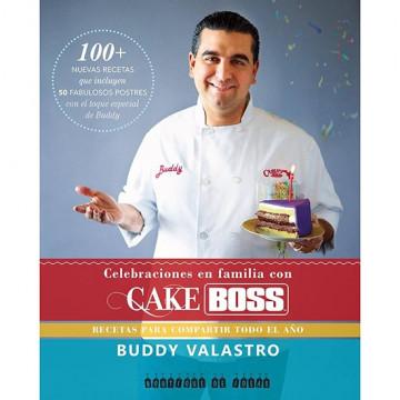 Libro Celebraciones en familia con Cake Boss