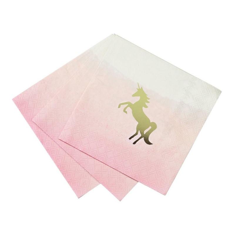 Servilleta de papel Unicornio