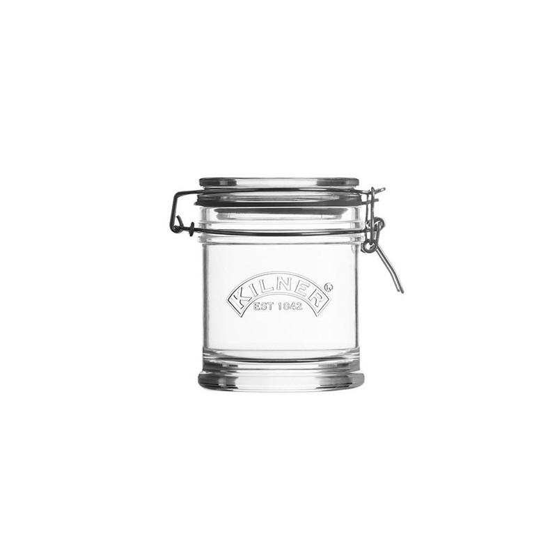 Tarro de cristal hermético 140ml redondo Cliptop Kilner