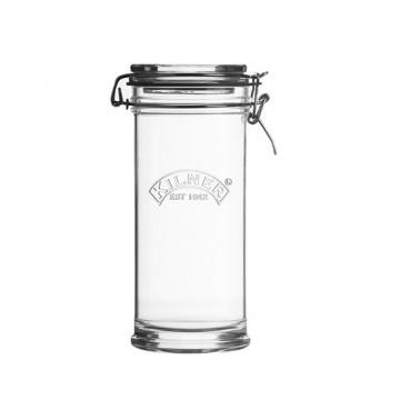 Tarro de cristal hermético 1litro redondo Cliptop Kilner