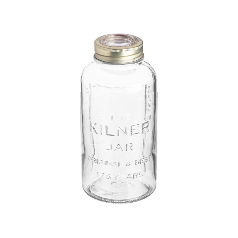 Tarro de cristal con tapa 750ml Aniversario Kilner