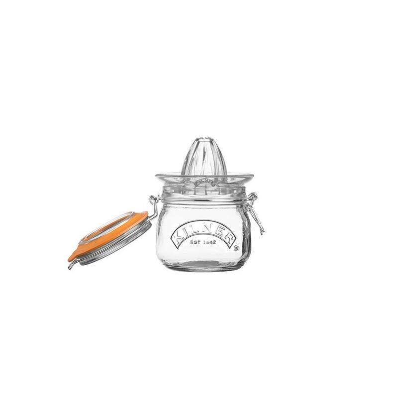 Tarro de cristal hermético con exprimidor 500ml Kilner