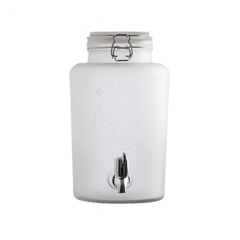 Dispensador con grifo de cristal translucido 5L Kilner