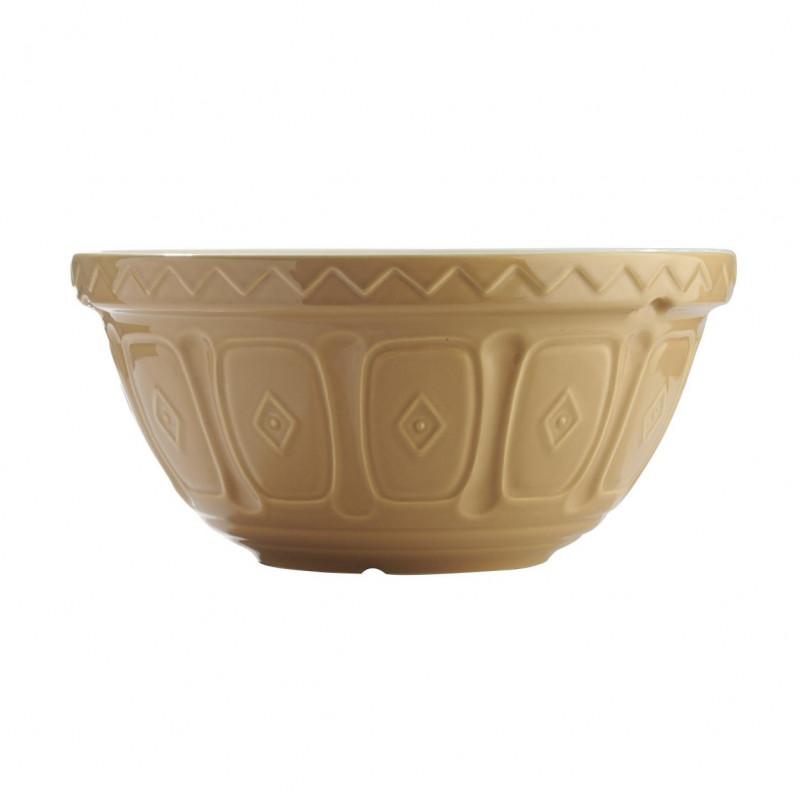 Bol de cerámica grande Crema Tostado Mason Cash