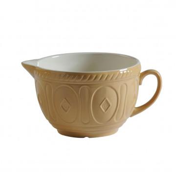 Bol de cerámica con asa Crema Tostado Mason Cash