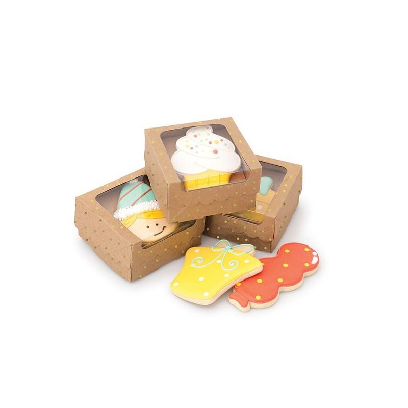Pack de 4 cajas de 1 galleta con elevador Kraft Sweet Sugarbelle