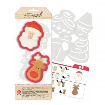 Kit de 7 piezas decoración Galletas: Navidad Sweet Sugarbelle