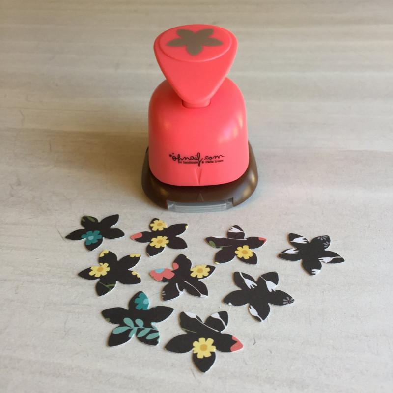 Troqueladora Flor 5 pétalos Mediana 2.4 cm