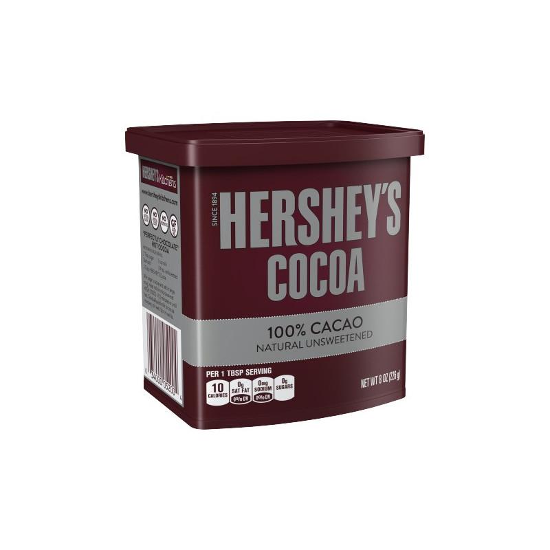 Cacao en polvo puro Hershey