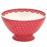 Bol de cerámica Lina Red Green Gate