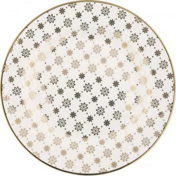 Plato de cerámica Laurie Gold Green Gate