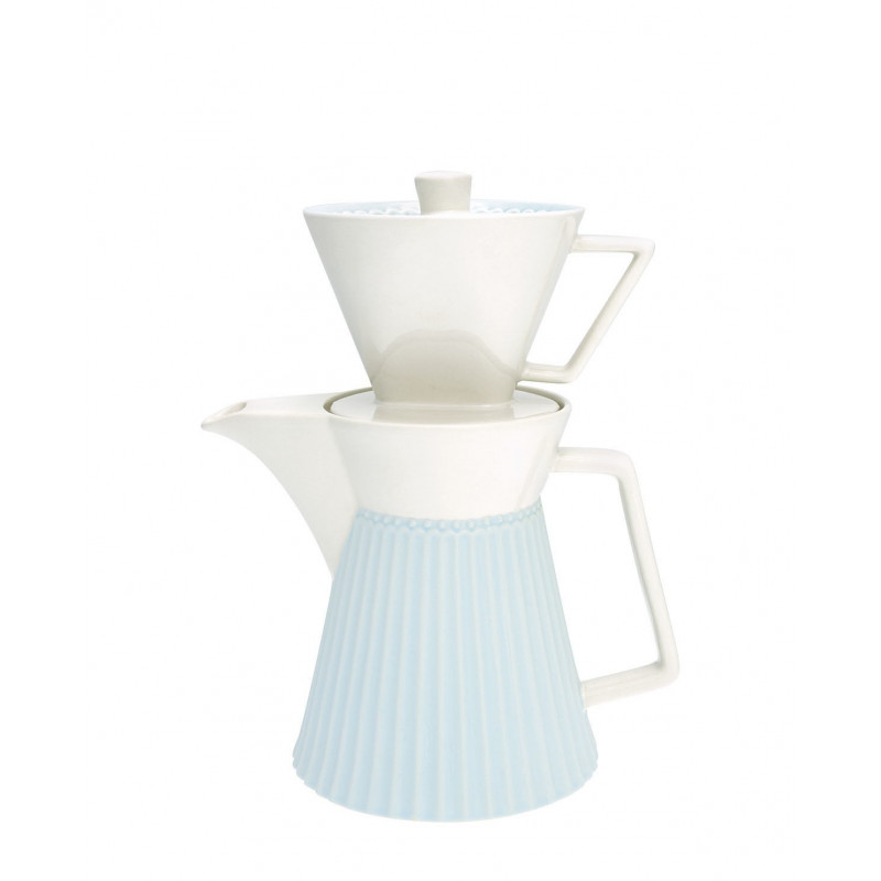 Cafetera con filtro Alice Pale Blue Green Gate