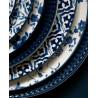 Plato de cerámica de 27 cm Vanessa Blue Green Gate